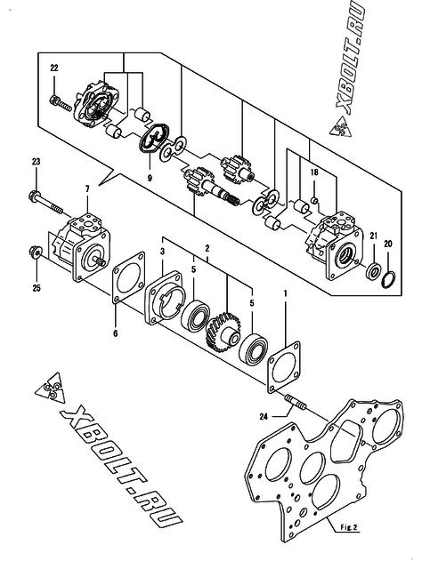 Yanmar Hydraulics Diagram